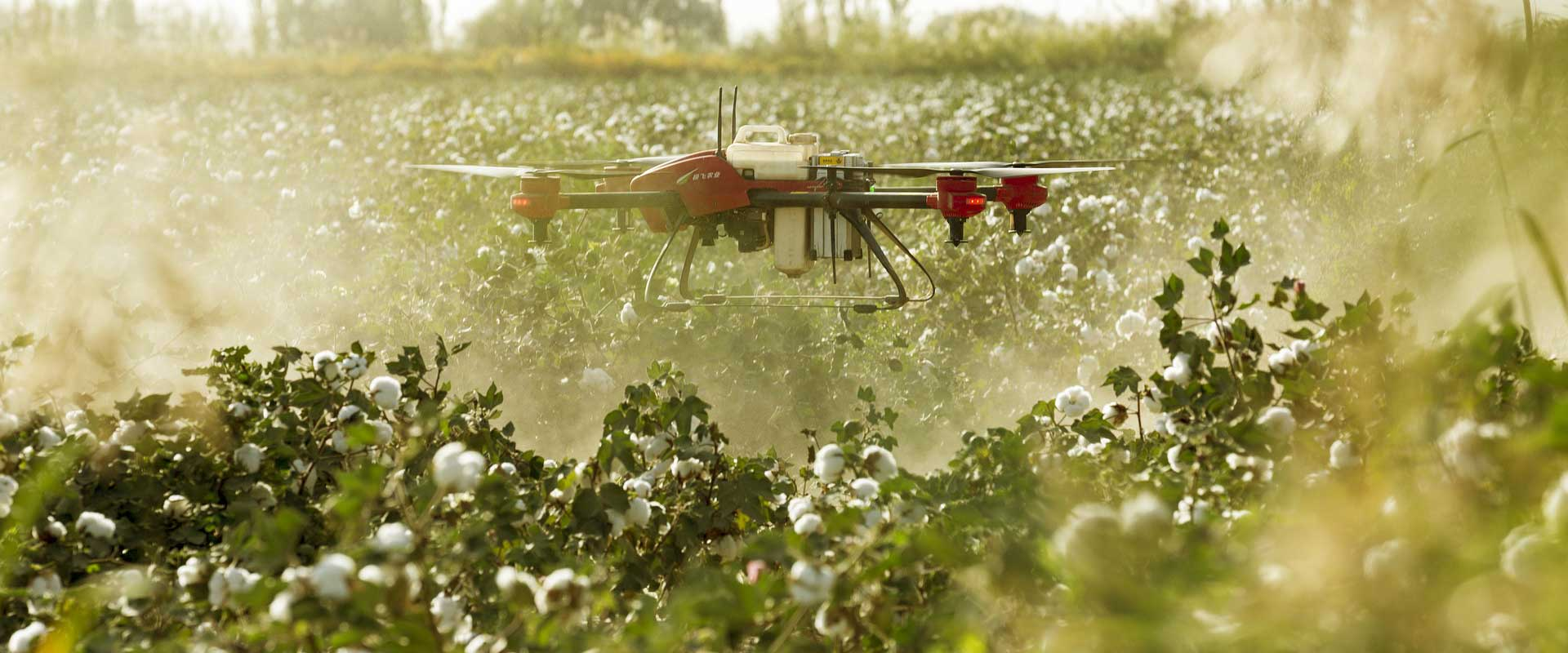 Drone Technology and Agriculture – A Happy Marriage
