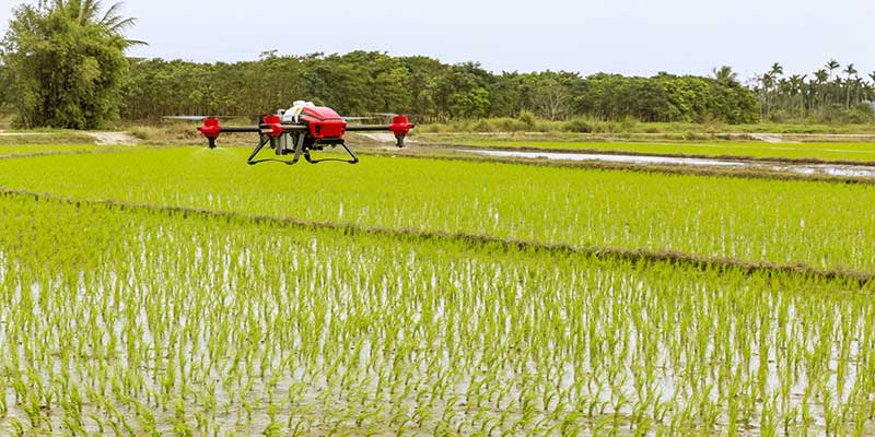 New Experiments Are Being Made - Drone Technology and Agriculture - A Happy Marriage