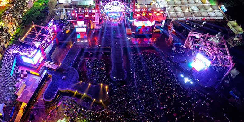 Social Events Without Danger - 3 Advantages of Drone Use for Surveillance Purposes