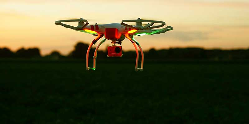 Surveillance Usage - Drone Technology and Agriculture - A Happy Marriage